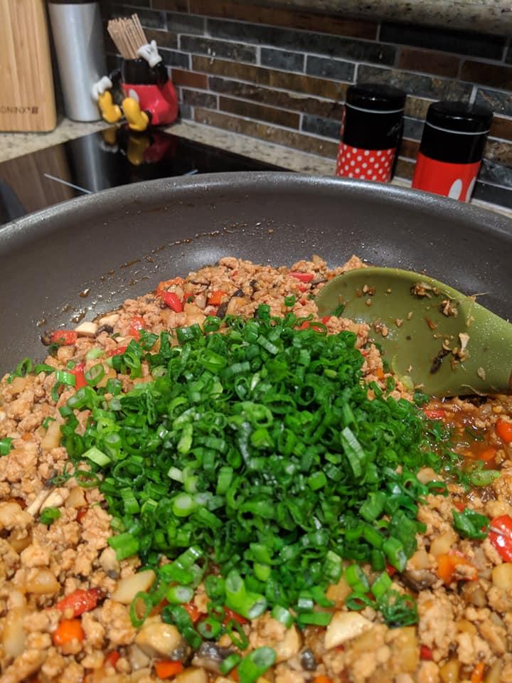 Asian Chicken Lettuce Wraps 5